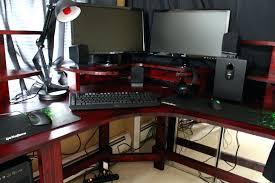 Gaming Computer Desks Computer Desk Gaming Types Of Gaming Desks Custom Gaming Computer