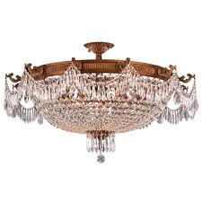 Flush Ceiling Light Fixtures Semi Flush Ceiling Lighting Color Finish Gold Tones Goinglighting