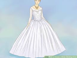 winter wedding dress how to choose a winter wedding dress 11 steps with pictures