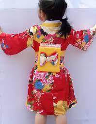 children yukata peacock japanese u0027s kimono kids yukata