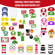 instant download video game mario super mario bros inspired