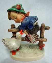 m j hummel 1948 figurine goebel w germany collectible barnyard