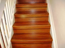 stair nice look straight stairs design with brown hardwood treads