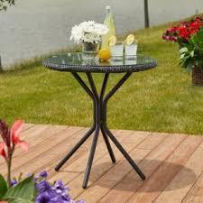 outdoor bistro tables you u0027ll love wayfair