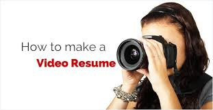 cozy inspiration video resume 8 top 13 tips on how to make a video