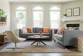 Eco Friendly Sectional Sofa Grey And Coral Living Room Contemporary With Brown Sectional