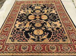 Hand Knotted Rugs India New Indian Hand Knotted Agra 8 U0027x 10 U0027 U2013 Rug Curator