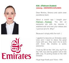 resume examples for flight attendant emirates flight attendant sample resume behavioral assistant cover and kitti is one of our platinum students and now a future emirates cabin crew job description resumehtml emirates flight attendant sample resume