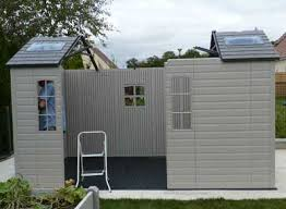 cabane jardin pvc installer abri de jardin pvc lifetime conseil abri