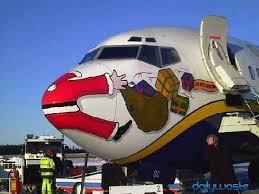 christmas cards themed cool aviation themed christmas cards