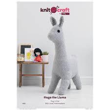 knitcraft hugo the llama digital pattern 0051 hobbycraft