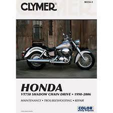 honda shadow 750 manual ebay