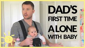 mom dad and baby costumes for halloween dad left alone with baby funny ad youtube