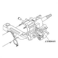 repair instructions steering column jacket replacement 2004