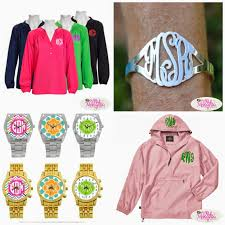 monogramed items personalized gifts at the pink monogram monogrammed
