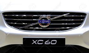 volvo logo bangkok april 2 logo of volvo series xc60 on bumper in
