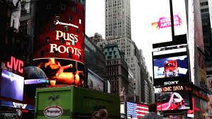 new york city ny november 23 digital billboards in times