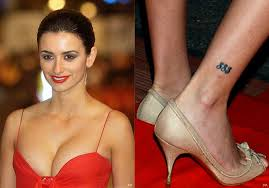 special tattoo ideas penelope cruz women celebrity tattoos women