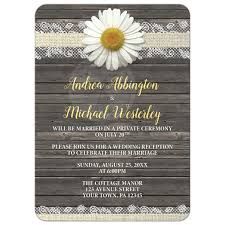 wedding reception only invitations only invitations burlap and lace wood