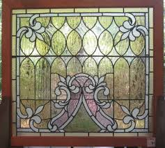 stained glass door windows interior extraordinary image of furniture for vintage home