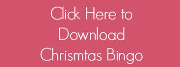 printable christmas bingo pre k pages