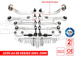 lexus is200 vs audi a4 for audi a4 b6 b7 2001 2007 front suspension arm kit 16mm brand
