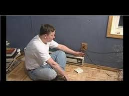 plumbing u0026 hvac maintenance how to wire a baseboard heater youtube