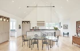 kitchen cabinets with light floor best 60 modern kitchen pendant lighting light hardwood
