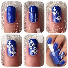 25 best ideas about snowflake nails on pinterest snowflake nail