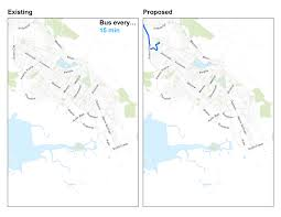 Bart Extension Map by Overview Fremont Newark Proposed Improvements Ac Transit