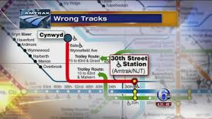 Amtrak Map New York by Amtrak Train To Nyc Ends Up At Septa Station In Bala Cynwyd 6abc Com