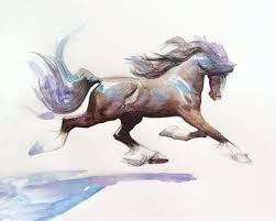 308 best horses in watercolor images on pinterest watercolors