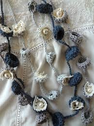 crochet pattern bohemian bells necklaces crochet necklace flower