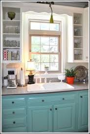 Open Cabinets Chalk Painted Kitchen Cabinets 2 Years Later Kitchens Chalk