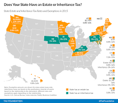 States In United States Map by Does Your State Have An Estate Or Inheritance Tax Tax Foundation