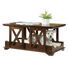 dog kennel side table dog kennel coffee table wayfair