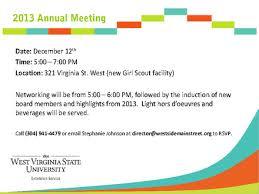 sle business meeting invitation letter 8 free sle meeting