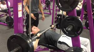 Bench Press Machine Weight Bench Press 200 X 5 At Planet Fitness Youtube