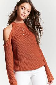 open shoulder sweater open shoulder sweater forever 21 2000140122
