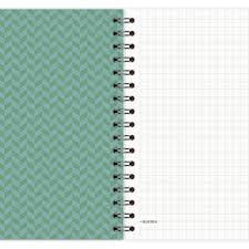 Muster Blau Grün Notizblock Muster Gr禺n Blau A6 A6 Notizbl禧cke Etmamu