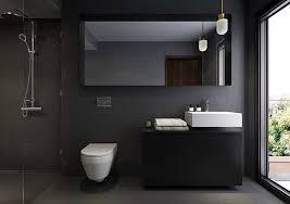 gray and black bathroom ideas beautiful black bathrooms crafts home