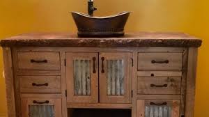 Barnwood Bathroom Vanity Marvellous Rustic Barn Wood Bathroom Vanity Photos Ideas House