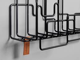 manage monday coat rack and storage shelf