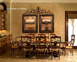 Wrought Iron Kitchen Wall Decor Tuscan Wall Decorations Traditional Old World Art For A