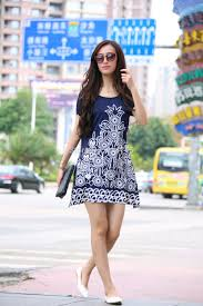 new 2015 summer dress short sleeve vestidos o neck casual bohemian