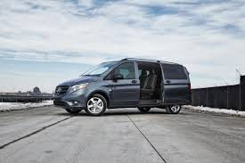 mercedes minivan review new mercedes benz metris has more oomph luxury than
