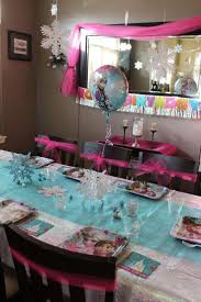 Baby Shower Table Setup by Best 25 Frozen Party Table Ideas On Pinterest Frozen Theme