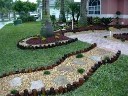 Rock Garden Beds Landscape Rock For Flower Beds Mreza Club