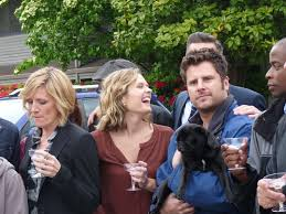 james roday and maggie lawson 2015 psych 100 episodes 100 clues confessions of a tv geek