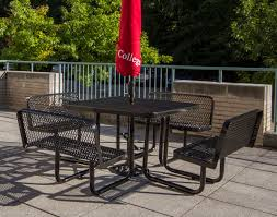 Square Patio Table by 46